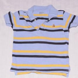 GAP blue  stripy t-shirt 2 years