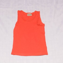 Next red vest t-shirt 18-24 months