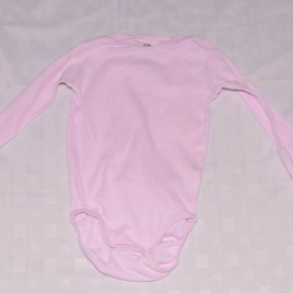H&M pink long sleeved bodysuit  18-24 months