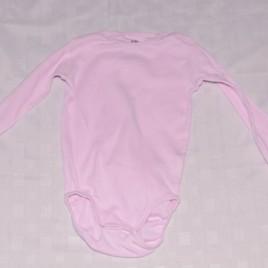 H&M pink long sleeved bodysuit  18-24 months