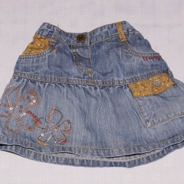 Next denim skirt 2-3 years