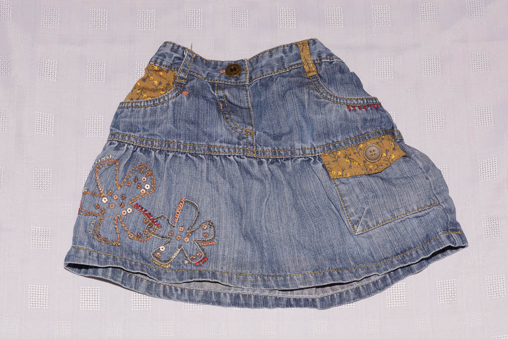 next denim skirt 2 3 years aylsham