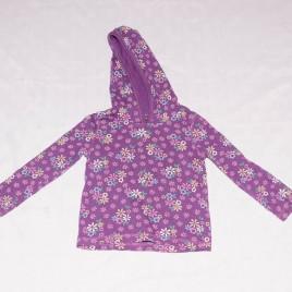Purple hoodie flowers top 2-3 years