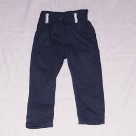 Navy trousers 18-24 months