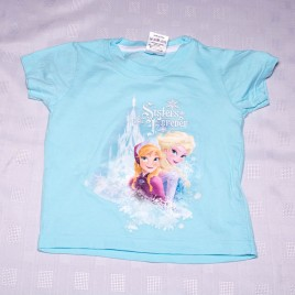 Blue Frozen t-shirt 2-3 years