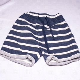 Next navy striped shorts 3-4 years