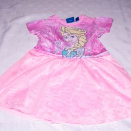Disney pink Frozen dress 2-3 years