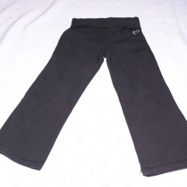 Black yoga jogging bottoms trousers 4 years