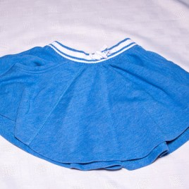 Next blue skirt 18-24 months