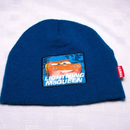 Blue Lightening McQueen hat 3-5 years