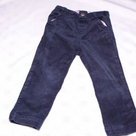 Jojo Maman Bebe navy cord trousers 2-3 years