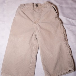 Stone cord trousers 12-18 months