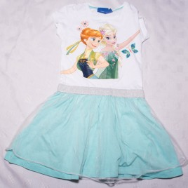 Disney Frozen Fever dress 2-3 years