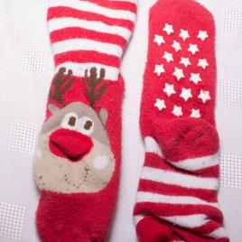 Christmas reindeer slipper socks 12-18 months