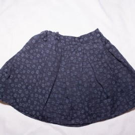 Next navy flowers skirt 18-24 months
