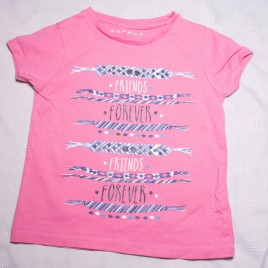Friends Forever pink t-shirt 2-3 years