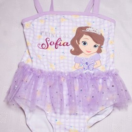 Disney Sofia the first swimming costume 2-3 years