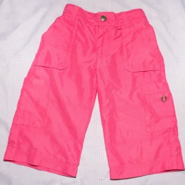 Pink cropped leg trousers 3 years