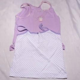 x2 purple vests 2-3 years