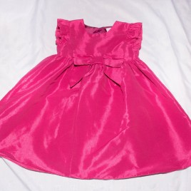 Dark pink party dress 2-3 years