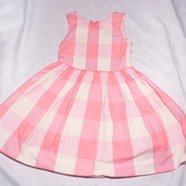 Next pink & white dress 3-4 years