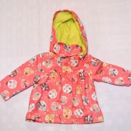 Pink ladybird jacket 3-6 months