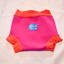 Splash About Happy Nappy cover pink medium 3-8 months