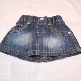 Denim skirt 3-6 months