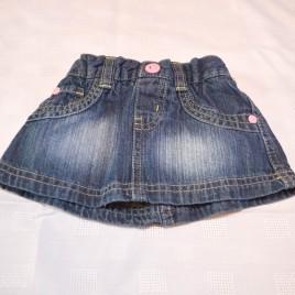 Denim skirt 3-6 months