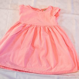 Next pink cord dress 3-4 years