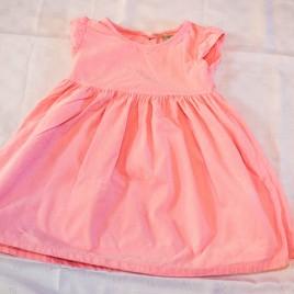Next pink cord dress 3-4 years