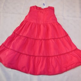 Jasper Conran junior J pink dress 18-24 months