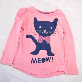 Pink cat top 2-3 years
