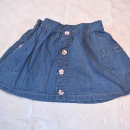 Blue skirt 2-3 years