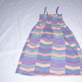 Stripy summer dress 4-5 years