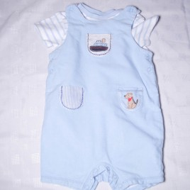 Next bodysuit & dungarees outfit 9-12 months