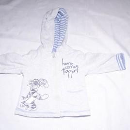 Grey Disney Tigger hoodie 6-9 months