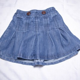Next denim skirt 4-5 years