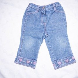 Next hearts jeans 6-9 months