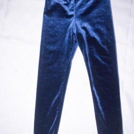 H&M navy velvet leggings 2-3 years