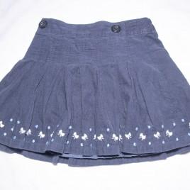 Jasper Conran Junior navy cord skirt 3-4 years