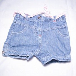 Jeans shorts 6-9 months