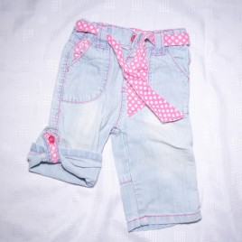 Rolled leg jeans 6-9 months