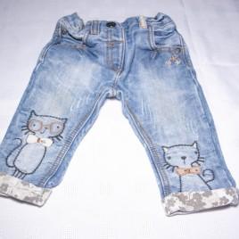 Next cat jeans 6-9 months