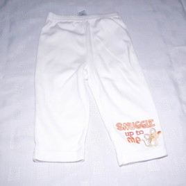 White leggings 6-9 months