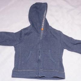 Navy hoodie cardigan 9-12 months