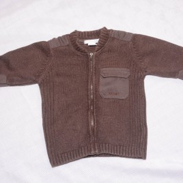 H&M brown cardigan 9-12 months
