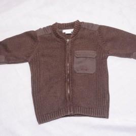 H&M brown cardigan 9-12 months