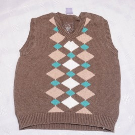 Zara brown tank top jumper 18-24 months