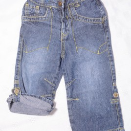 Rolled leg jeans 12-18 months